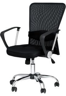 Cadeira De Escritório Barcelos Preta