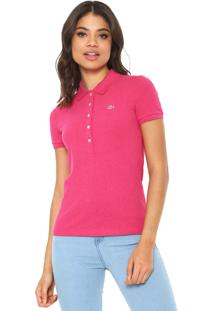 e9609328fc3e4 Camisa Pólo Acinturada Rosa feminina   Gostei e agora