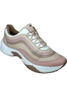 Tênis Sneaker Dakota G0572 Feminino - Feminino-Nude
