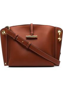 Jw Anderson Hoist Shoulder Bag - Marrom