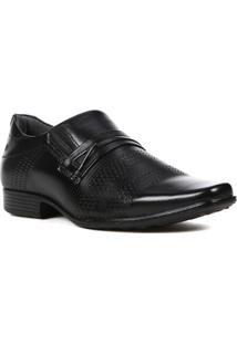 Sapato Social Pegada Masculino - Masculino-Preto