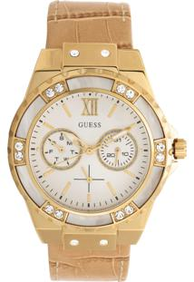 Relógio Guess 92601Lpgsdc2 Bege