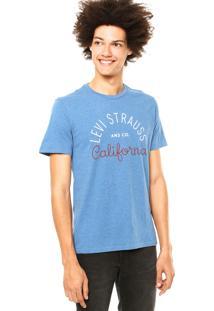 Camiseta Levis California Azul