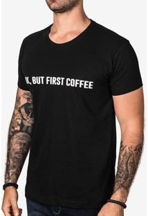 Camiseta Ok, But First Coffee 102971