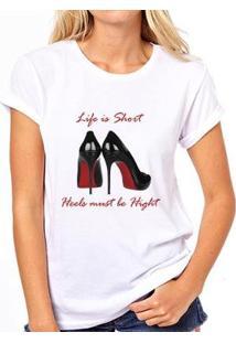 Camiseta Coolest Loubotin Feminina - Feminino