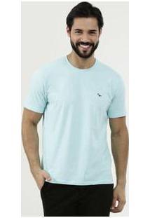 Camiseta Masculina Bordada Manga Curta Yacht Master