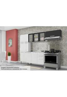 Cozinha Itatiaia Tarsila Aço 4 Peças Cz44 Branco/Preto