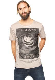 Camiseta John John Japan Bege