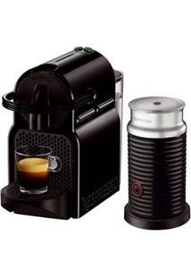 Cafeteira Expresso Nespresso Combo Black & Aeroccino - Preto