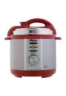 Panela De Pressão Elétrica Philco 4L Vermelha 110V