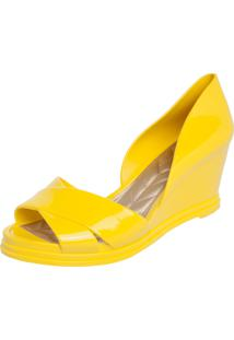 Sandália Petite Jolie Dorsay Amarelo