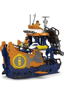 Imaginext Navio Comando Do Mar - Mattel