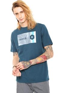 Camiseta Hurley Double Standard Azul