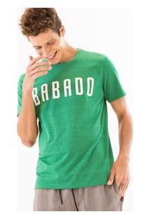 Camiseta Com Estampa Babado