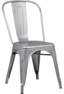 Cadeira Sem Braço Iron-Rivatti - Cinza