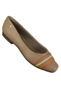Sapatilha Piccadilly 250181 Feminino Piccadilly Bege