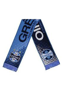 Cachecol Grêmio 4 Estações Azul