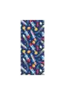 Adesivo Decorativo De Porta - Foguetes - Infantil - 1709Cnpt