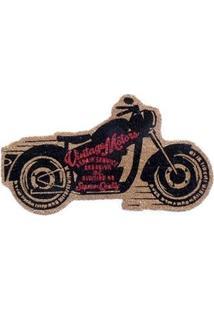 Capacho Motocicleta Vintage Custom