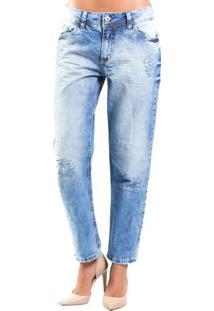 24ec839fe Occhi Azzurri. Calça Jeans Tomboy Médio Colcci