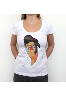 Elvis - Camiseta Clássica Feminina