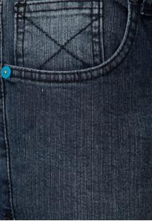 Calça Jeans Hurley Juv Reta Estonada Azul