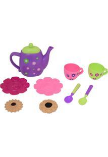 Conjunto De Chá Infantil De Brinquedo Chaleira E Biscoitos