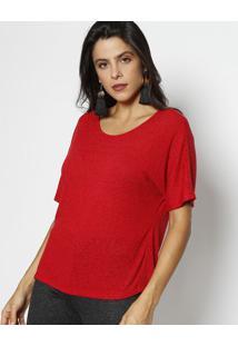 Blusa Em Flamê- Vermelhadimy