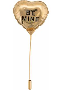 Marc Jacobs Broche The Balloon - Dourado