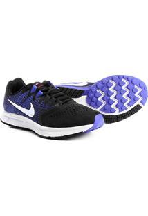 Tênis Nike Zoom Span 2 Feminino - Feminino-Preto+Azul