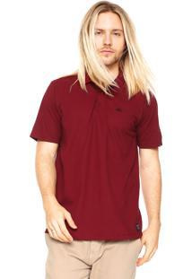 Camisa Polo Quiksilver Slim Vermelha