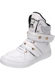 Sneaker Eagle Black Fitness Feminino - Feminino-Branco