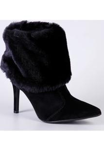 Bota Feminina Ankle Boot Pelúcia Vizzano 3049220
