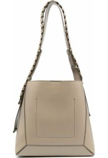 Stella Mccartney Braided-Strap Shoulder Bag - Neutro
