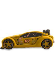 Cama Carro Zmax Racing - Amarela - Amarelo - Dafiti