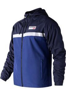 Jaqueta New Balance Athletic 78 Masculina - Masculino-Azul