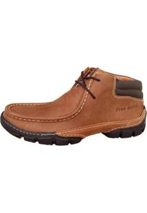 Bota Free Jump Adventure Whisky - Masculino-Marrom