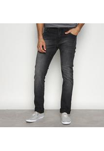 Calça Jeans Super Skinny Coca-Cola Estonada Masculina - Masculino