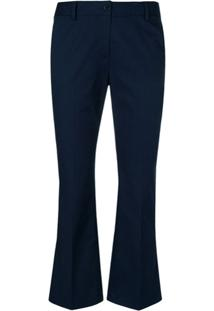 Alberto Biani Flared Trousers - Azul