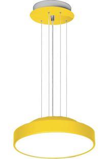 Pendente 7653 Amarelo 4 Lâmpadas Bivolt