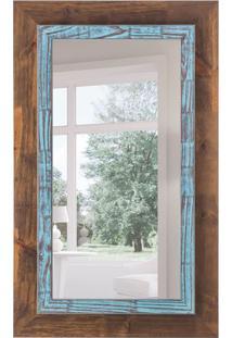 Espelho Decorativo Vision 63X103 Cm Marrom
