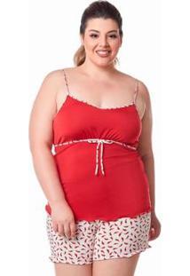 Baby Doll Dukley Lingerie Plus Size Feminino - Feminino