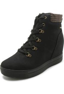 Tênis Sneaker Dakota Recorte Preto