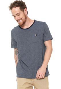 d3b31b92c ... Camiseta Forum Bolso Azul-Marinho