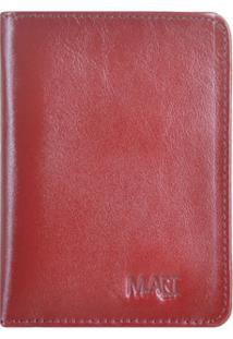 Carteira M.Art 57V - Masculino-Vermelho