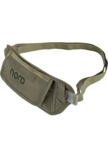 Pochete Nord Outdoor Money Belt - Marrom Claro