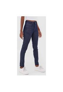 Calça Jeans Grifle Company Skinny Lisa Azul