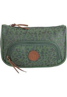 Nécessaire Dmw Capricho Fashion Army Com Bolso – Verde