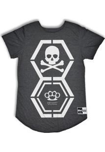 Camiseta Longline Dna Diet - Masculino
