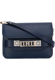 Proenza Schouler Bolsa Transversal Ps11 Mini - Azul